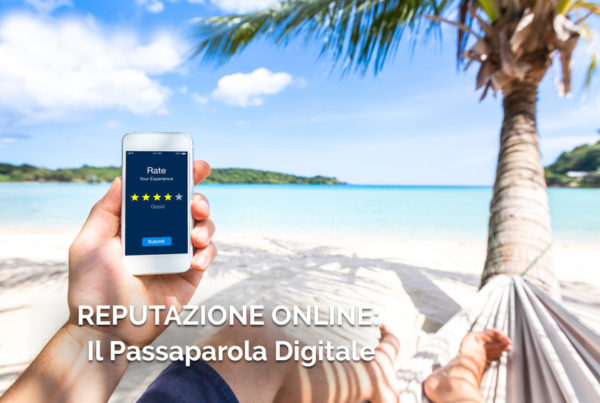 web marketing turistico il passaparola digitale copertina